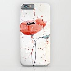 Poppy no 1 iPhone 6s Slim Case