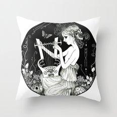 Torva Sonus - Grim Sound Throw Pillow