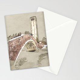 Venice Murano Ponte Stationery Cards