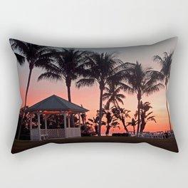 Tangling with Destiny Rectangular Pillow