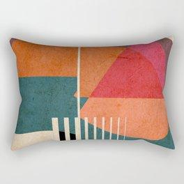 in the autumn Rectangular Pillow