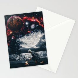 Smoke from Space by GEN Z Stationery Cards