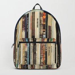 Classic Rock Vinyl Records Backpack