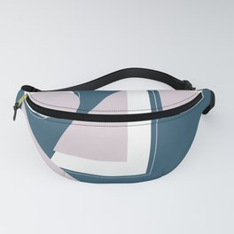 Geometric Shapes Abstract Fanny Pack