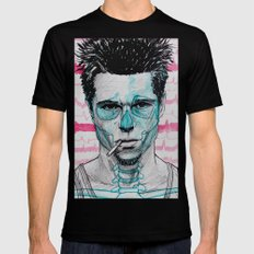 Tyler Durden LARGE Mens Fitted Tee Black