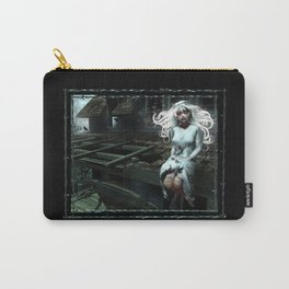 """Lacey Malice"" by MiaSnow and Trin Carry-All Pouch"