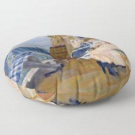"""Auguste Renoir """"L'après-midi des enfants à Wargemont (The childrens' afternoon at W.) Floor Pillow"""