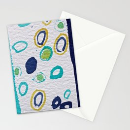 Waterdrops in Watercolors Stationery Cards