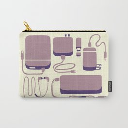 Digital Emergency Kit (Lavender) Carry-All Pouch