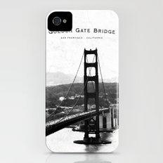 Golden Gate Bridge - San Francisco iPhone (4, 4s) Slim Case