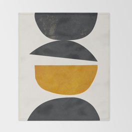 abstract minimal 23 Throw Blanket