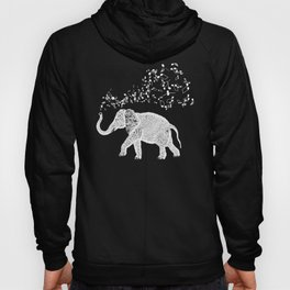 Elephant Music Notes for Animal and Music Lovers product Hoody