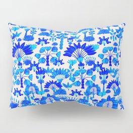 Exotic Garden - Blue Pillow Sham