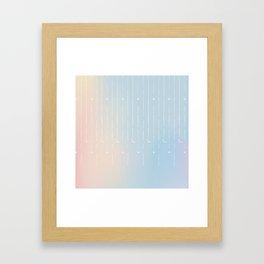 Stars & Moons Framed Art Print