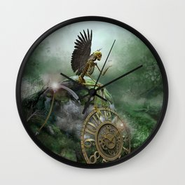 Even Death Rests Wall Clock