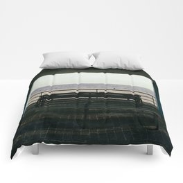 Blue Coney Comforters