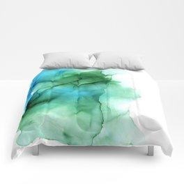 The Blue Green Sea Comforters