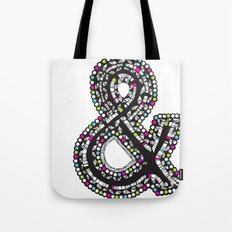 Aztec Ampersand.  Tote Bag