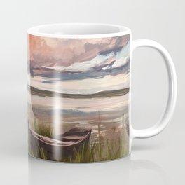 Sunrise over the lake Coffee Mug