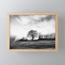 Whispers On The Wind Framed Mini Art Print