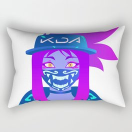 K/DA Akali Rectangular Pillow