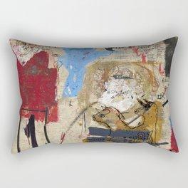 Jean-Michel Bradley Rectangular Pillow