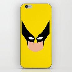 Wolverin e superhero iPhone & iPod Skin