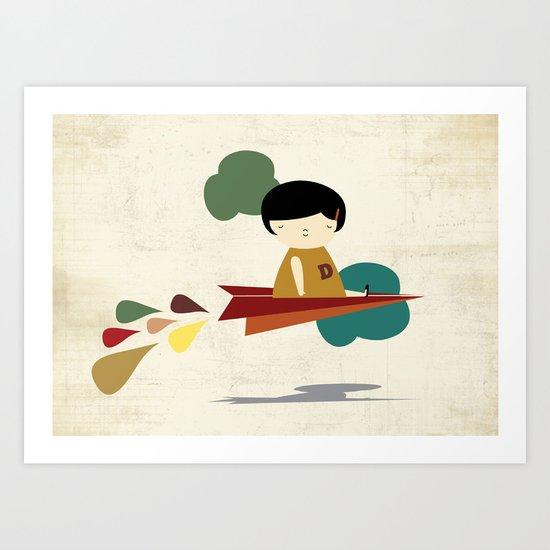 Brave Art Print