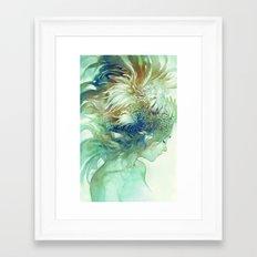 Comb Framed Art Print