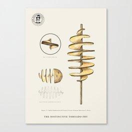 The Distinctive Tornado Potato Canvas Print