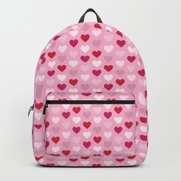Hearts Repeated Pattern 112 Backpack