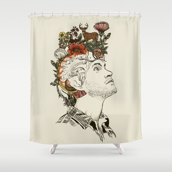 This Is My Design Shower Curtain