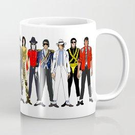 King MJ Pop Music Fashion LV Coffee Mug