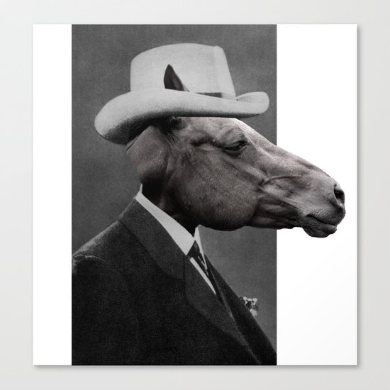 HORSE FACE Canvas Print