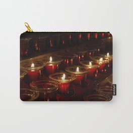 Prayer Candles With a Shallow Depth of Field Carry-All Pouch