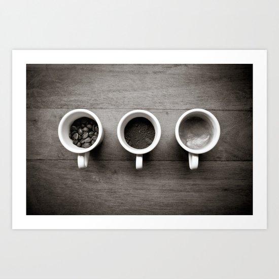 coffee V. Art Print