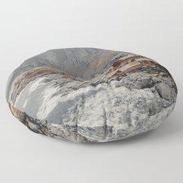 Lofoten, Norway Artwork Floor Pillow