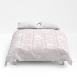 Let it bloom with tulips, floral pattern design Comforters