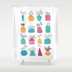 Ornamental Vases Shower Curtain