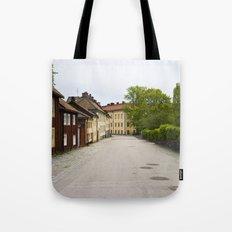 Stockholm, Sweden Old Streets Tote Bag