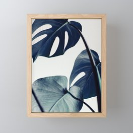 botanical vibes II Framed Mini Art Print