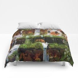 Waterfalls in the Clocktower Comforters