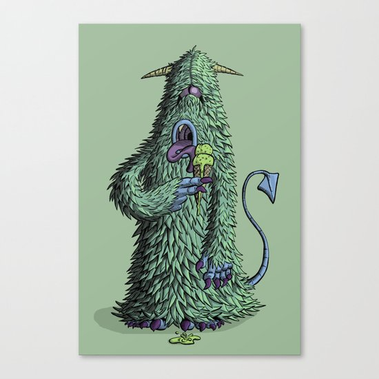 Id Monster Canvas Print