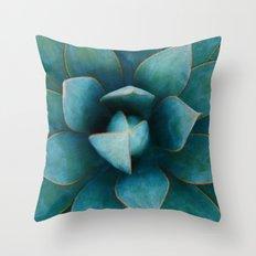 Succulent Plant Throw Pillow