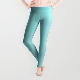 Island Paradise | Pantone Fashion Color Spring : Summer 2017 | Solid Color Leggings