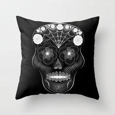 Hypnoskull Throw Pillow