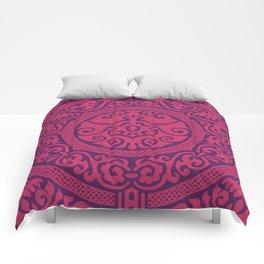Red Renaissance  Comforters