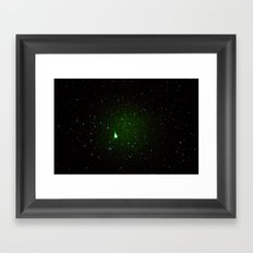 space noise. Framed Art Print