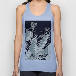 Oriental Palm Riddle Vintage Unisex Tank Top