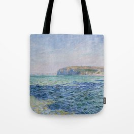 Shadows on the Sea at Pourville by Claude Monet Tote Bag